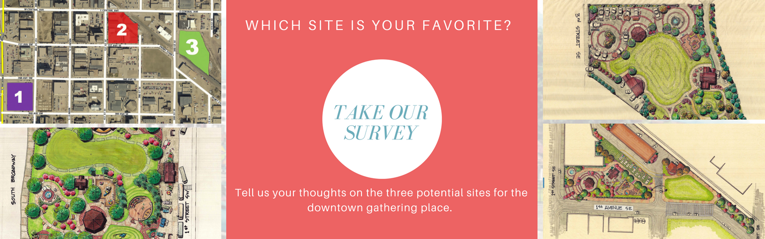 Downtown Gathering Place Survey Link