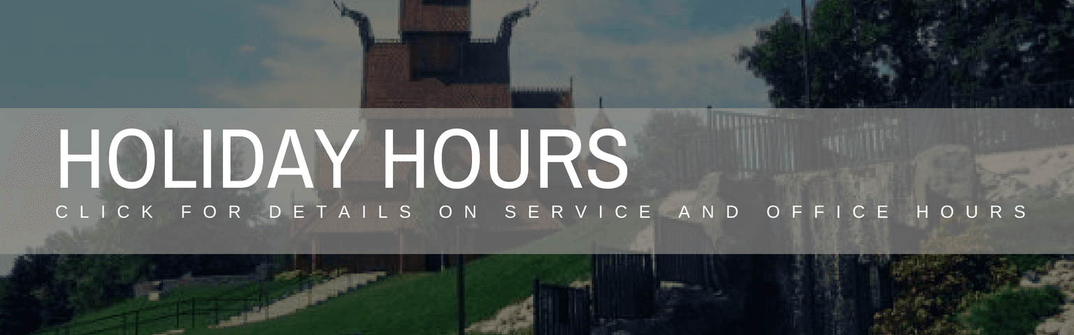 holiday hours SCROLL