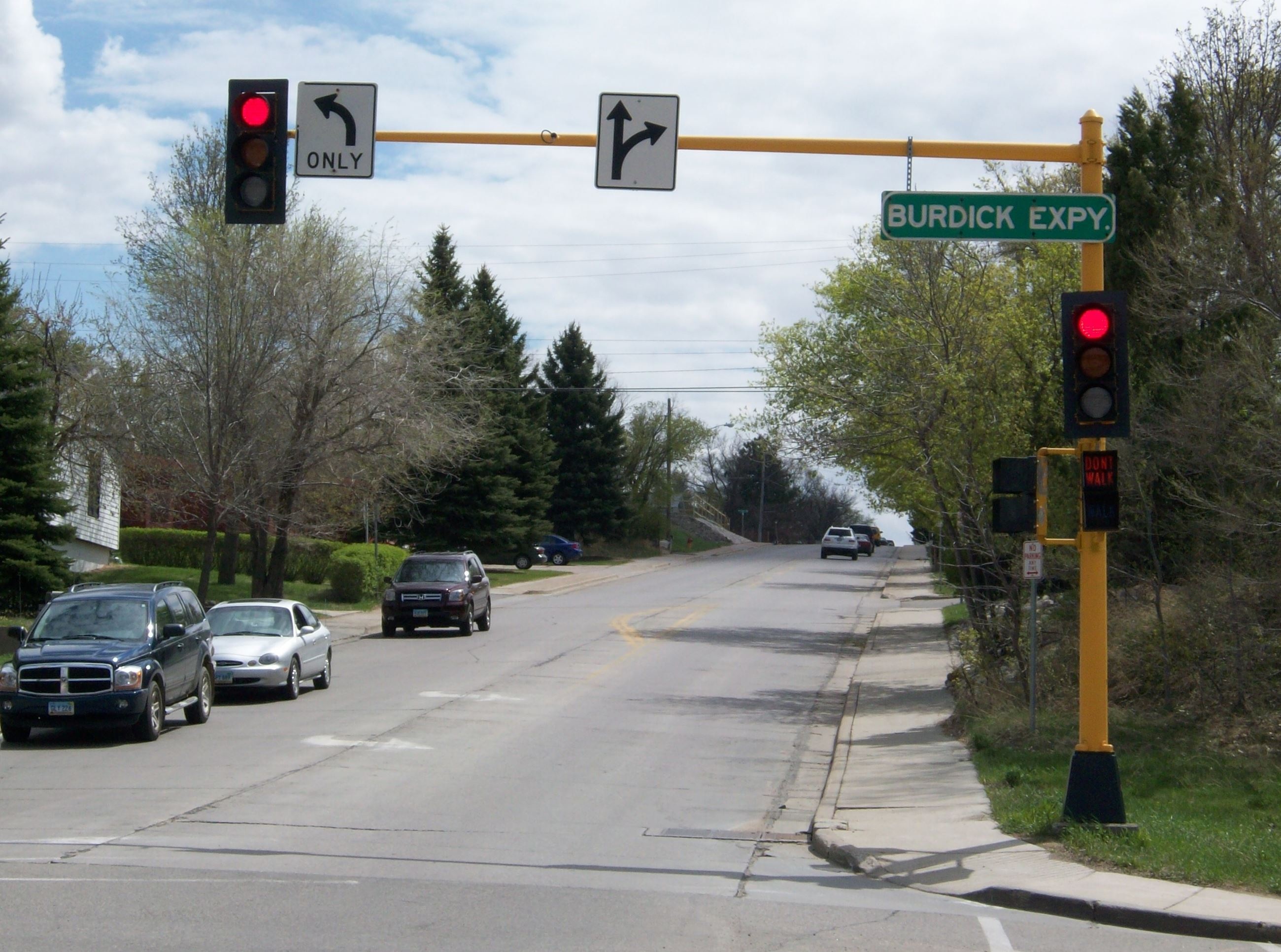 Traffic Signal at Burdick and 6th St