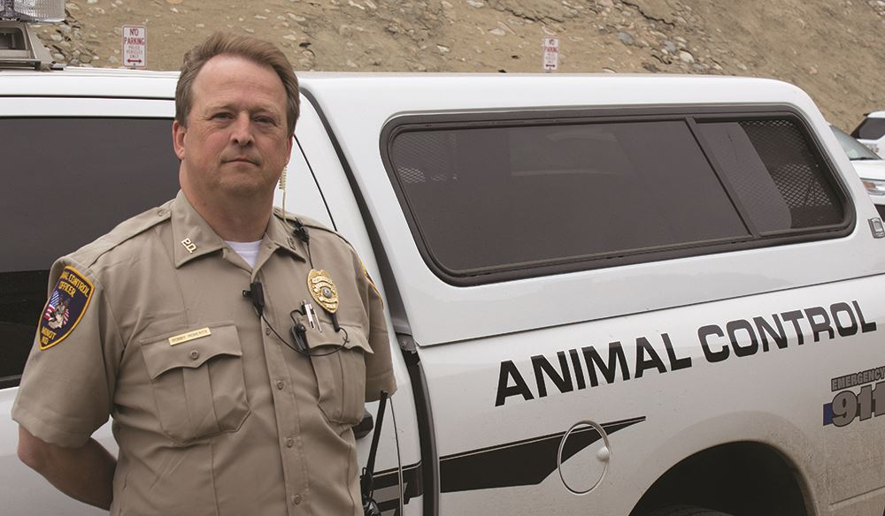 Animal control officer Roberts
